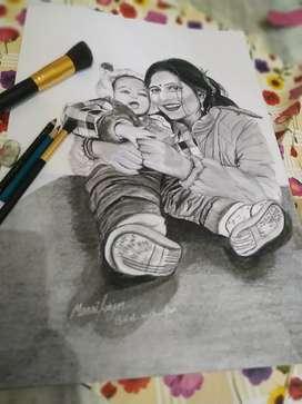 Hd sketch art