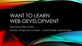 Web Development Crash Course in Just 2 Weeks