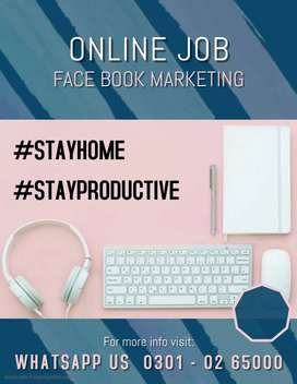 We need marketer for face book marketing work