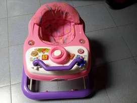 Baby Walker warna Pink