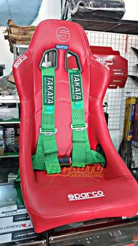 Jok Racing Sparco Bucket Semi Kulit Ready Model Lain nya