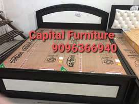 Brand new king size bed on installment at very affordable price