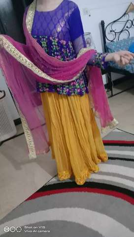 Mehndi event flawless dress , wore 3 times ...