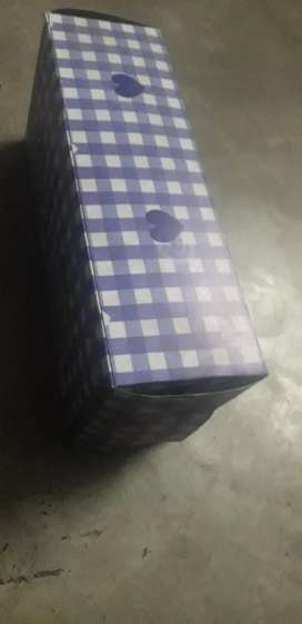 Color Card box any packaging product size 12×4/6