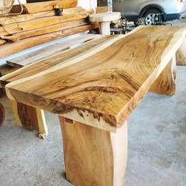 Produksi/Jual Meja Kayu Solid, dan cofee table akar jati