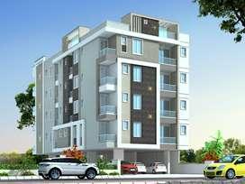 698sqft garden view appartment