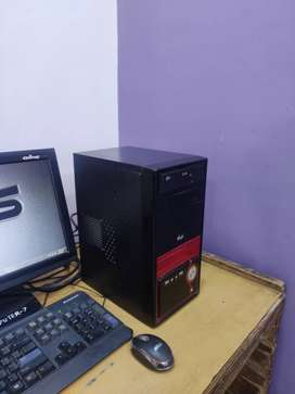 full ok pc sale 320 Gb hdd 2 Gb ram
