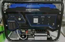 Genset General ET5000CE Bebas Asap Bahan Bakar Bensin
