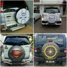 Cover/Sarung Ban Serep Mobil Sidekick/Daihatsu Taruna/Rush/Teriosi#HAR