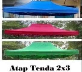 ATAP TERPAL TENDA LIPAT 2 X 3 DAN 3 X 3