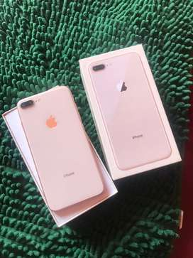 iphone 8 plus 64 gb full set mulus 99%