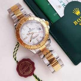 Rolex Yacht Master Kombinasi gold Free box original
