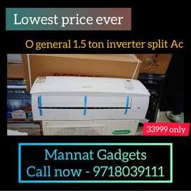 Split AC o - general Brand new 1.5 Ton 5 Star _ 1 year warranty