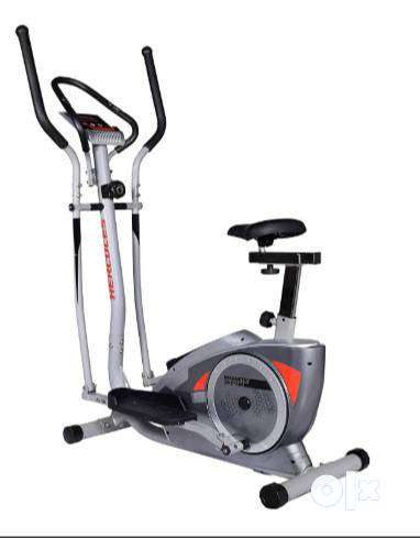 Hercules Fitness EL10 Elliptical Trainer/Cross Trainer/Cycling Grey 0