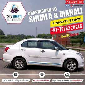 Chandigarh To Shimla Manali Taxi Services