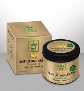 Face Lifting Cream - Turmeric & Tulsi