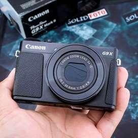 Canon G9X mark II. FULLSET Like New. Ex Datascrip