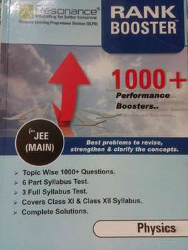 Resonance IIT-JEE revision package (Physics,Chemistry)+Allen testpaper