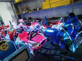 peluang usaha mainan eskavator odong mobil remot M6