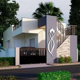Luxuary villa Near main road THIRUNINRAVUR