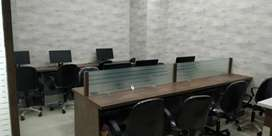 Fully furnished office spase available in sector v aurora waterfront