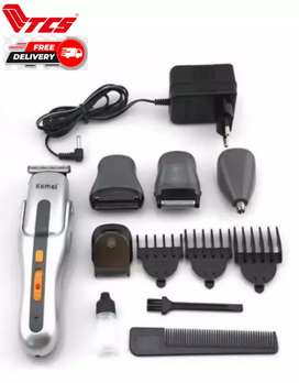 Kemei Km 680A Model Trimmer - Kemei 8 in 1 Shaving Machine - Shavers