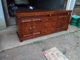 Rak Bufet tv meja real jati furniture