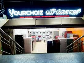 Refrigerator and washing machine available with free door delivery