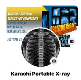 Karachi X-Ray , ECG , ULtrasound home srevices