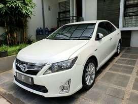 Toyota Camry Hybrid KM 72rb A/T PUTIH 2012 Asli Mulussss!!