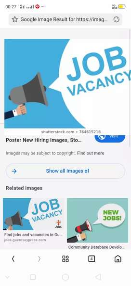 For weekend all so job available