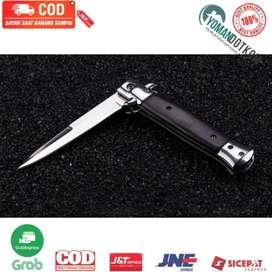S12 KNIFEZER Pisau Saku Lipat Folding Portable Knife Survival Tool