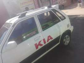Kia pride with Ac nd New Woofers