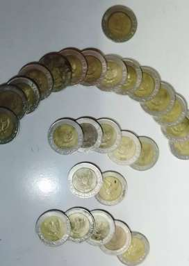 Uang koin 1000 Kelapa Sawit Th 1996