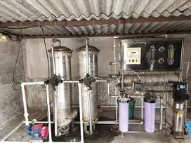 SS 316 RO PLANT 1000LTR/HOUR  WITH PROVISION OF UV AND OZONATOR