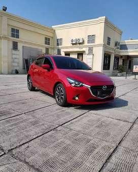 Mazda 2 HB R Skyactive AT Merah 2015 Pajak1th Km40rb Focus Wtc 5