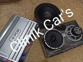 Paket audio subwoofer mapletech, power PCA, speaker trans ^_^