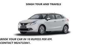 Ac Taxi in 8 rupess km