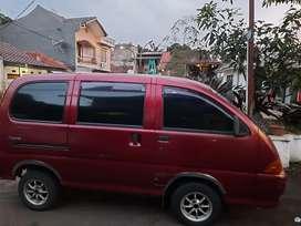 Mobil Espass Bekas warna Merah!
