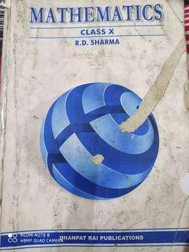 R.D. Sharma (class 10) 2017 edition