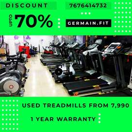 USED MOTORISED TREADMILLs 7,990 onward 1 YEAR WARRANTY 20 Models YOU'R