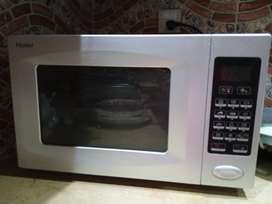 Haier microwave oven plus cooking range