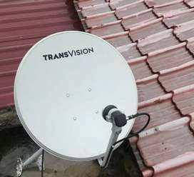 'Parabola Transvision,'Gratis Biaya Pasang'