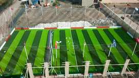 Artificial grass astro turf use for outdoor decoration