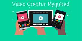 Video Recorder And Editor - Office Job