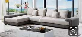 Top class L shape sofa design With 5 years of warranty
