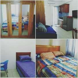 Kosan murah disewakan 2 kamar apartemen