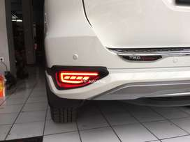 Lampu Bumper Reflektor Mata Kucing Belakang LED All New Fortuner 2019