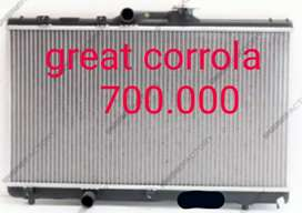 Radiator mesin great corrola allnew manual