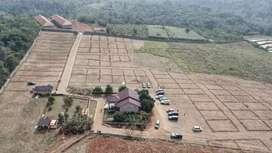 PALING MURAH! Tanah Kavling 100m2 SHM Pinggir Jalan, View Indah